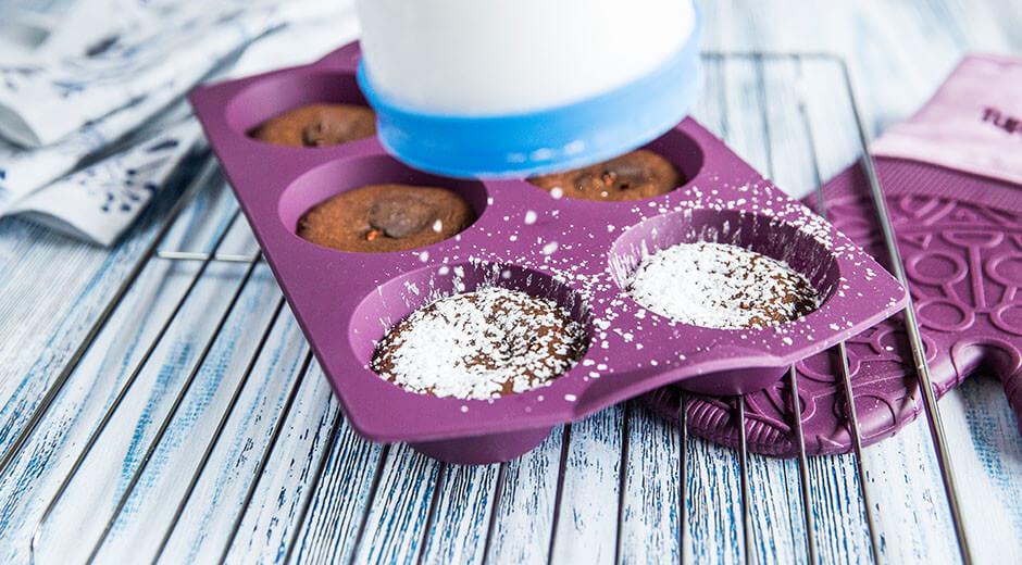 Chili Schoko Muffins Tupperware
