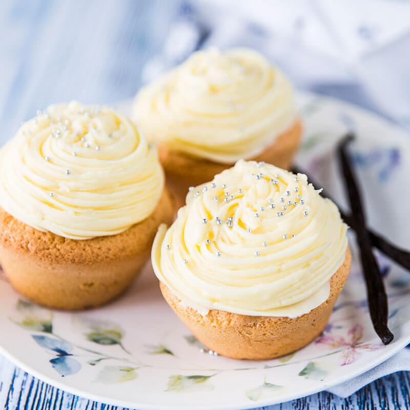 Grundrezept Vanille Cupcakes Tupperware